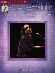 The Best of Stevie Wonder: Keyboard Signature Licks