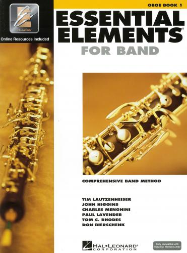 Essential Elements 2000 Oboe Book 1 (Audio Access)