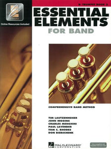 Essential Elements 2000 Bb Trumpet Book 2 (Book/CD)