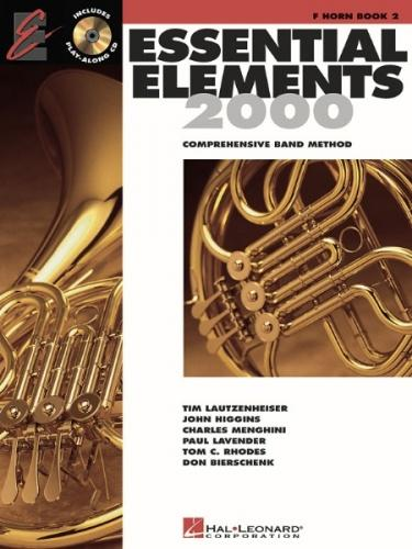 Essential Elements 2000 Horn in F Book 2 (Book/CD)
