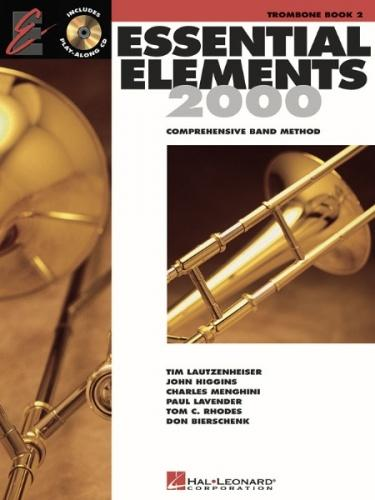 Essential Elements 2000 Trombone Book 2 (Book/CD)