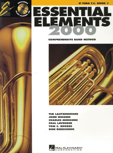 Essential Elements for Band Eb Tenor Horn Book 1 ( includes CD )