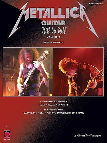 Riff By Riff: Metallica - Volume 2 (Guitar TAB)