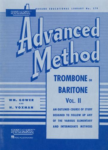 Advanced Method for Trombone or Baritone Volume 1 Trombone t