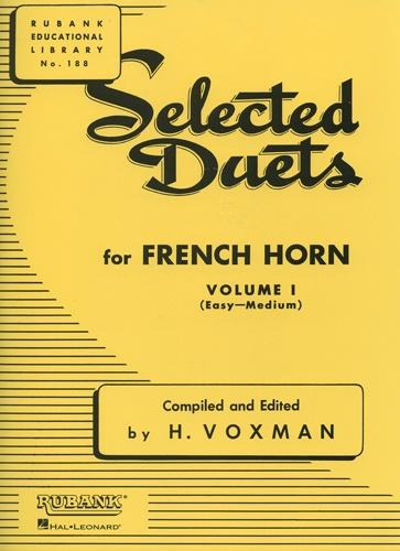 Selected Duets for Horn in F - Volume 1 ed. Voxman