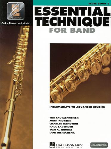Essential Technique for Band Flute Book 3