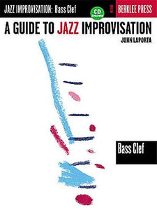 A Guide To Jazz Improvisation: Bass Clef (Book & CD)