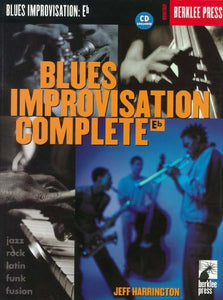 Harrington: Blues Improvisation Complete E Flat (Saxophone Solo)