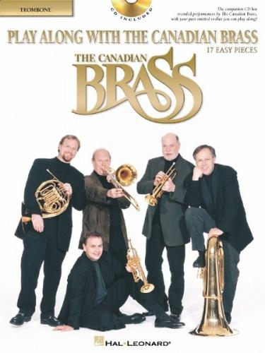 Play Along with the Canadian Brass (Easy), Book/CD, Trombone