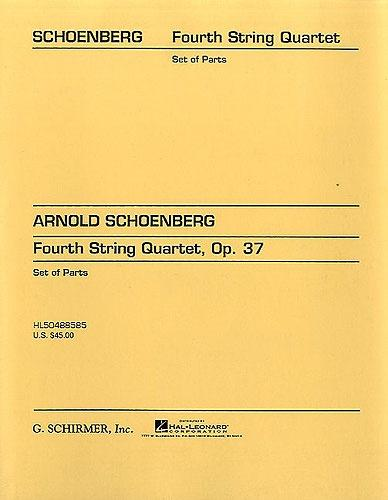 Arnold Schoenberg: String Quartet No.4 Op.37 (Parts)
