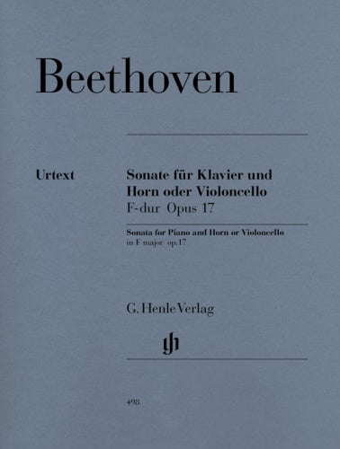 Sonata for Horn (or Cello) & Piano in F Major, Op.17