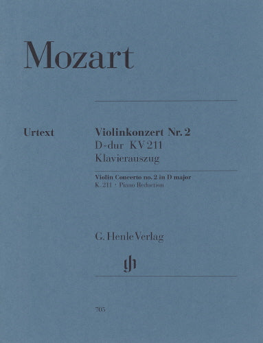 Mozart: Violin Concerto No. 2 in D Major K.211 (Urtext)