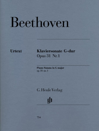 Beethoven: Piano Sonata in G major, Op.31 No. 1