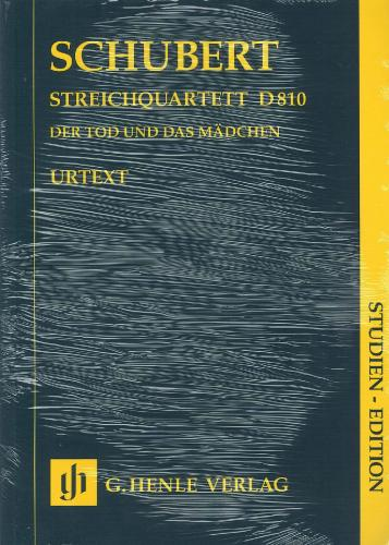 Franz Schubert: Death and The Maiden - String Quartet D810 - Score Only
