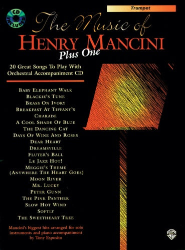 The Music of Henry Mancini Plus One (Trumpet & CD)