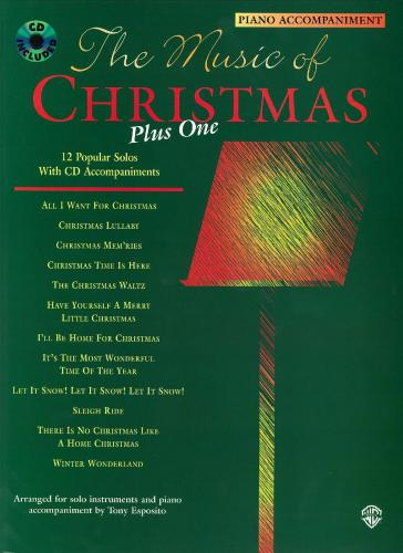 The Music of Christmas Plus One (Piano Accompaniment)