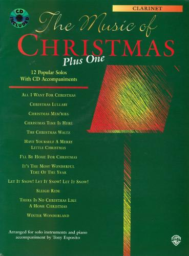 The Music of Christmas Plus One (Clarinet & CD)
