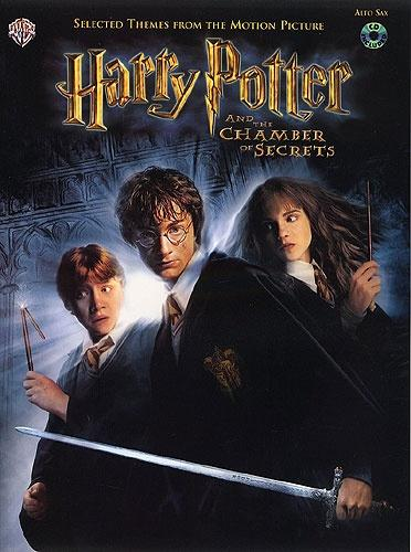 Williams: Harry Potter Chamber of Secrets - Alto Saxophone (Book & CD)