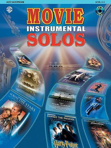 Movie Instrumental Solos (Alto Saxophone) Part & CD