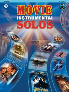 Movie Instrumental Solos (Horn in F) Part & CD
