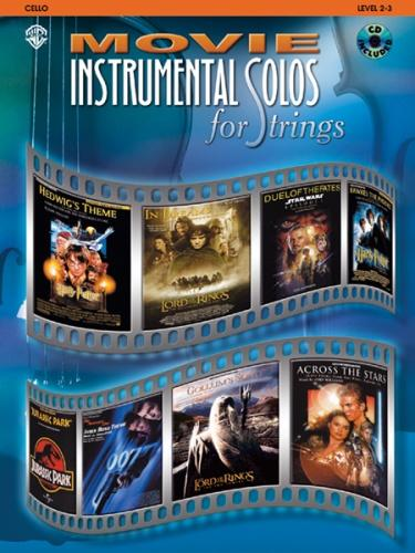 Movie Instrumental Solos for Strings (Cello & CD)