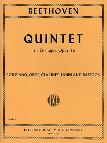 Beethoven: Quintet in Eb major, Op.16 (Ob Cl Hn Bsn & Piano)
