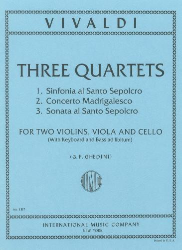 3 String Quartets