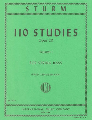 110 Studies, Op.20 Volume 1