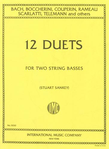 12 Duets for 2 Double Basses