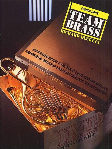 O/P: Team Brass: French Horn (Book/CD)