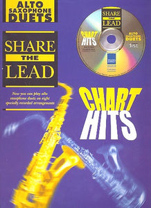 Share The Lead - Chart Hits (Alto Saxophone Duet) with CD