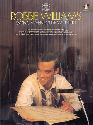 Robbie Williams: Swing When You're Winning (Violin/CD)
