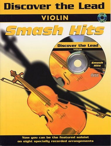 Discover The Lead: Smash Hits for Violin (with CD)