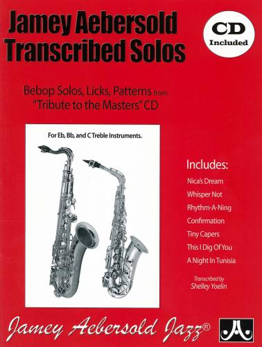 Jamey Aebersold Transcribed Solos for Eb,Bb & C Treble Instruments