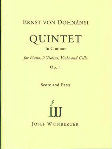 Piano Quintet in C, Op. 1 (Score & Parts)