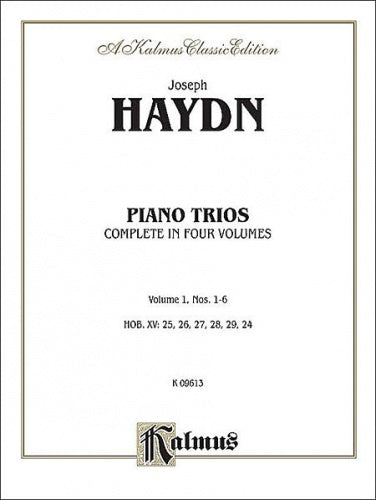 Trios for Violin, Cello and Piano, Volume I (Nos. 1-6)