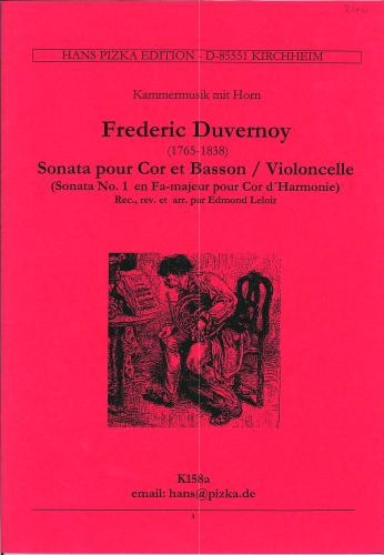 Frédéric Duvernoy: Sonata No. 1 in F Major