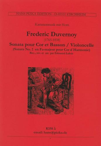 Frédéric Duvernoy: Sonata No. 2 in F major