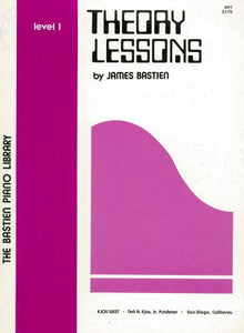 Bastien Piano Library: Theory Lessons Level 1