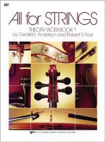 All for Strings Theory Workbook 1 (Cello)