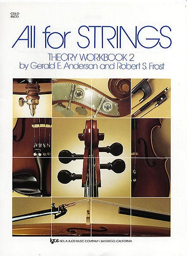All for Strings Theory Workbook 2 (Cello)