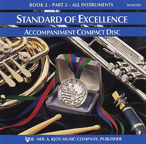 Pearson: Standard of Excellence Book 2 - Part 2 (CD)