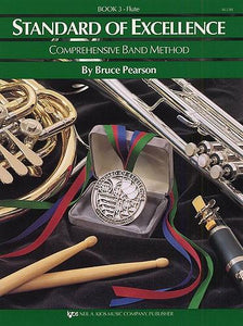 Pearson: Standard of Excellence Book 3 (Flute)