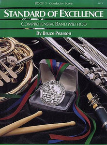 Pearson: Standard of Excellence Book 3 (Conductor's Score)