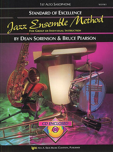 Standard of Excellence Jazz Ensemble Method (1st Alto Saxophone) +CD