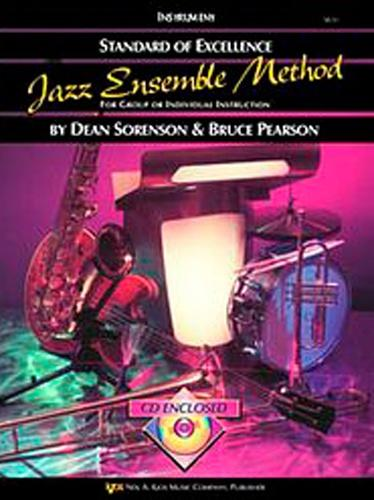 Standard of Excellence Jazz Ensemble Method (2nd Trombone) +CD