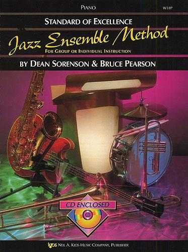 Standard of Excellence Jazz Ensemble Method (Piano) +CD