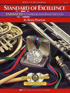 Pearson: Standard of Excellence Book 1 (Eb Alto Saxophone) ENHANCED + CD