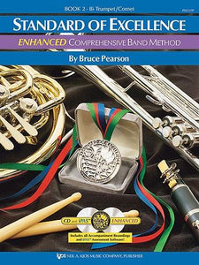 Pearson: Standard of Excellence Book 2 (Bb Trumpet/Cornet) ENHANCED + CD