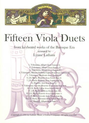 15 Viola Duets from Keyboard works of the Baroque Era